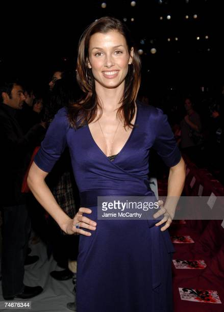 Bridget Moynahan at the The Tent Bryant Park in New York City New York