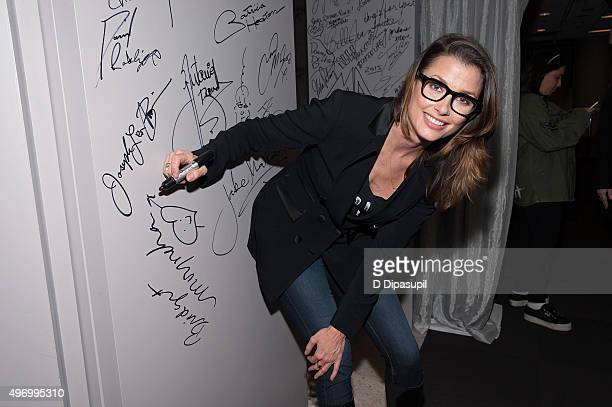 Bridget Moynahan attends AOL BUILD Presents Bridget Moynahan Discusses Her New Cookbook 'The Blue Bloods Cookbook' at AOL Studios In New York on...