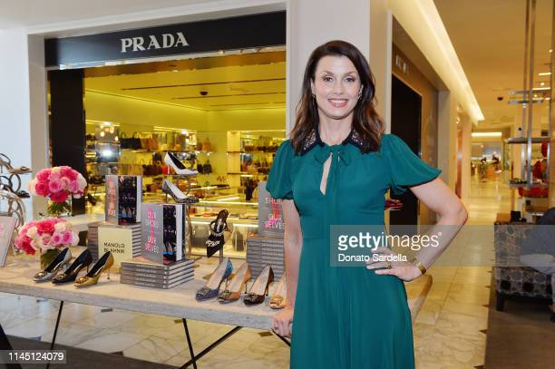 Bridget Moynahan attends Saks Beverly Hills Celebrates Our Shoes Our Selves Book Launch with Bridget Moynahan and Amanda Benchley on April 25 2019 in...