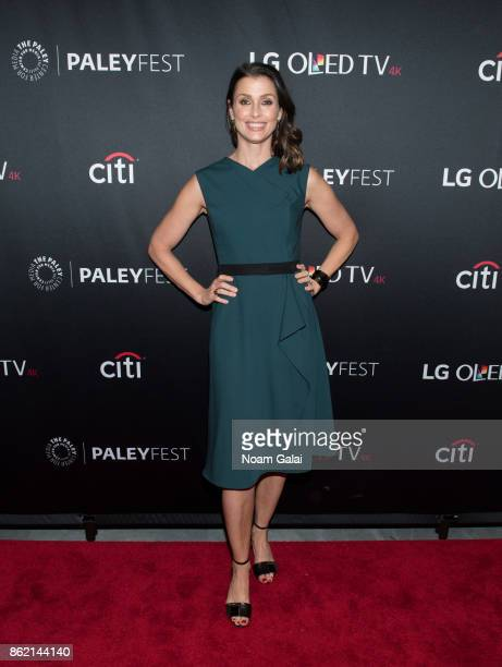 """Bridget Moynahan attends the """"Blue Bloods"""" screening during PaleyFest NY 2017 at The Paley Center for Media on October 16, 2017 in New York City."""