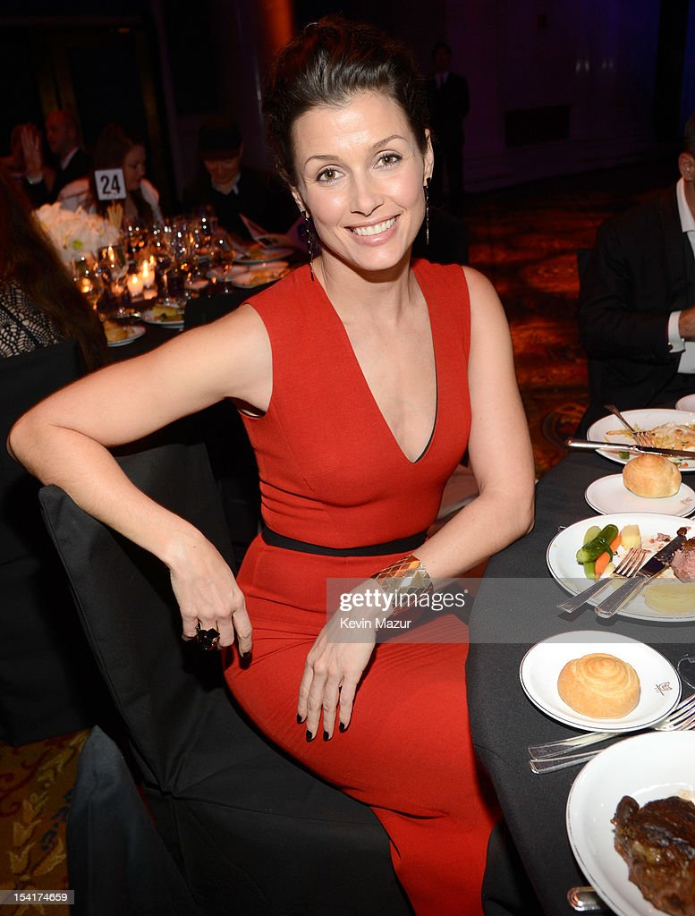 Bridget Moynahan attends the Elton John AIDS Foundation's 11th Annual An Enduring Vision Benefit at Cipriani Wall Street on October 15, 2012 in New York City.