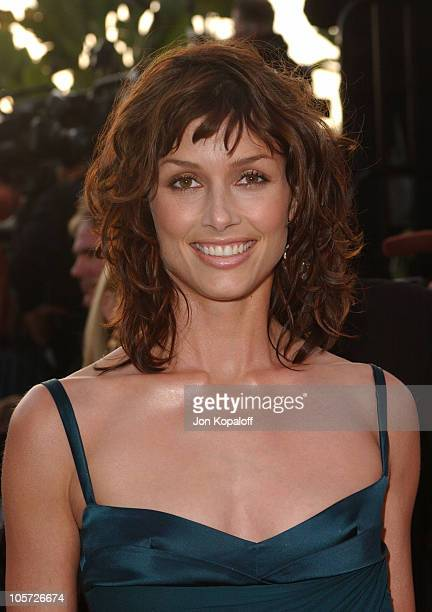 Bridget Moynahan during 2005 Vanity Fair Oscar Party at Mortons in Los Angeles California United States