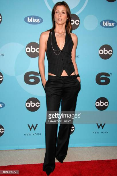 Bridget Moynahan during ABC's Six Degrees' Series Premiere at W Hotel in New York City New York United States