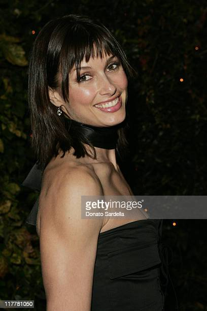 Bridget Moynahan during Ben Stiller and Christine Taylor Host a Grand Classics Screening of Sweet Smell of Success with YSL at the Playboy Mansion at...