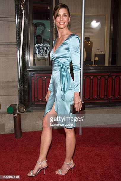 Bridget Moynahan during Cartier and Interview Magazine Celebrate The Cartier Charity Love Bracelet at The Cartier Mansion in New York City New York...