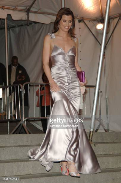 Bridget Moynahan during Chanel Costume Institute Gala at The Metropolitan Museum of Art Departures at The Metropolitan Museum of Art in New York City...