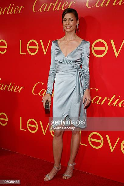 Bridget Moynahan during Cocktail Party for The Cartier Charity Love Bracelet at Cartier Mansion in New York NY United States
