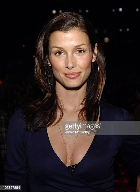 Bridget Moynahan during Mercedes Benz Fashion Week Fall 2007 Diane Von Furstenberg Front Row and Backstage at The Tent Bryant Park in New York City...