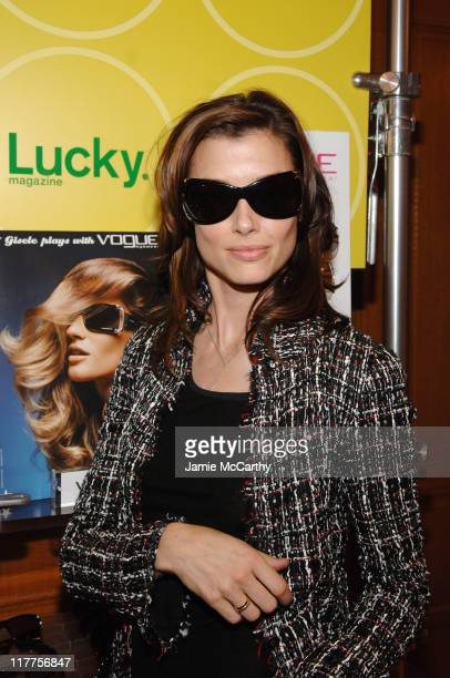 Bridget Moynahan during The Lucky Magazine Club 2006 Day 2 at The Ritz Carlton Central Park South in New York City New York United States