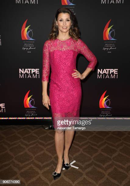 Bridget Moynahan is seen at the Brandon Tartikoff Legacy Awards at NATPE 2018 at the Fontainebleau Hotel on January 17 2018 in Miami Beach Florida