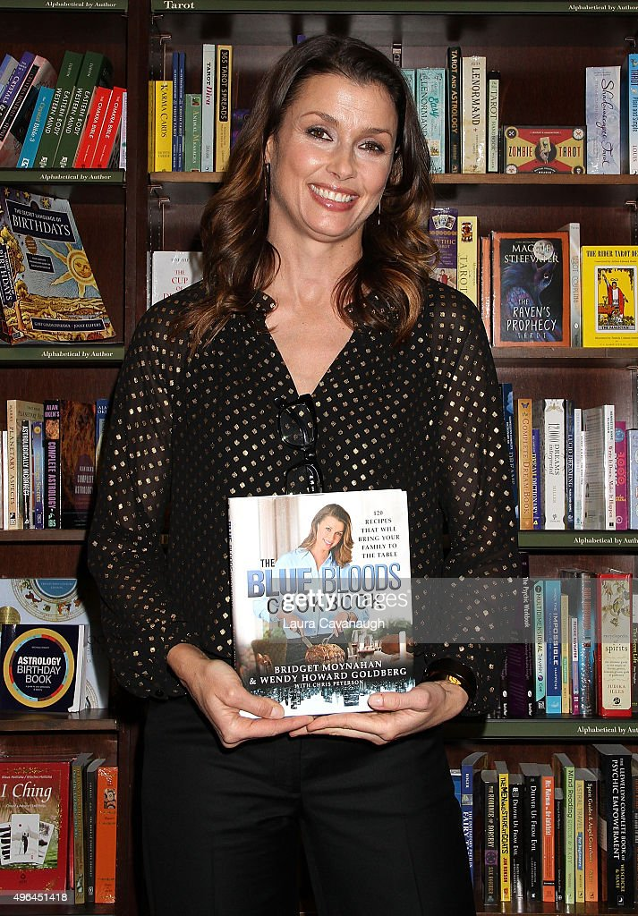 "Bridget Moynahan Signs Copies Of ""The Blue Bloods Cookbook"""