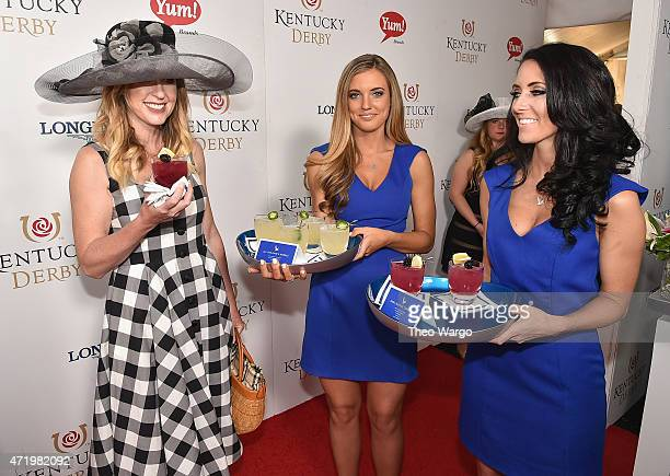Bridget Norris attends the GREY GOOSE Lounge at the 141st running of The Kentucky Derby at Churchill Downs on May 2 2015 in Louisville Kentucky