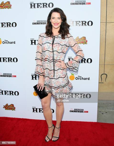 Bridget Regan attends the premiere of the Orchard's 'The Hero' on June 05, 2017 in Hollywood, California.