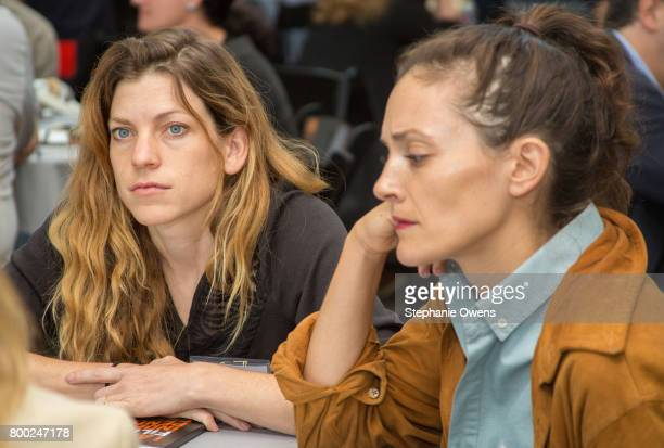 Bridget Savage Cole and Danielle Krudy attend Fast Track Session during the 2017 Los Angeles Film Festival on June 21 2017 in Culver City California