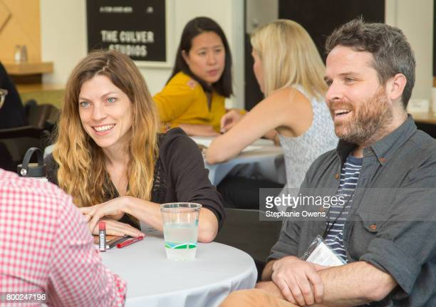 Bridget Savage Cole and Drew Houpt attend Fast Track Session during the 2017 Los Angeles Film Festival on June 21 2017 in Culver City California