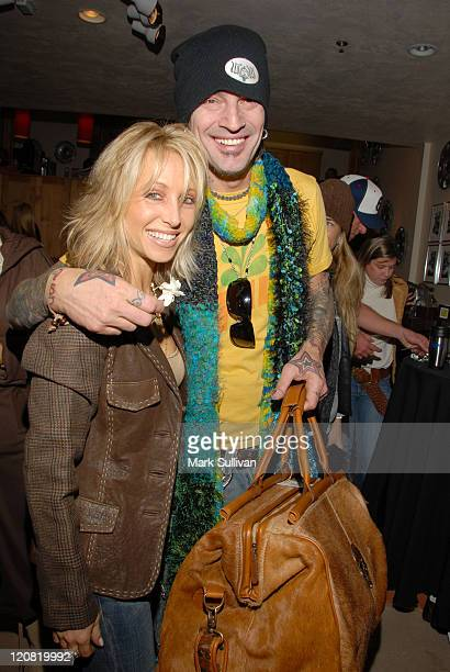 Bridget Schuster and Tommy Lee during 2006 Sundance Film Festival Volkswagen Lounge Produced by Backstage Creations at VW Lounge in Park City Utah...