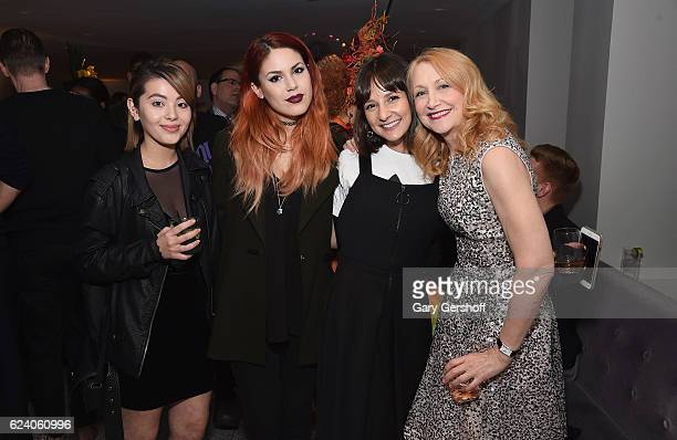 Bridgett Ngo Luanna PerezGarreaud Alyssa Coscarelli and Patricia Clarkson attend Housing Works' Fashion for Action 2016 at Freds at Barneys New York...