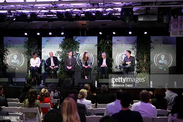 Bridgette Bell manager of Global Sustainability-Yum! Brands Inc, William Brent executive vice president of Weber Shandwick's Cleantech, Michael...