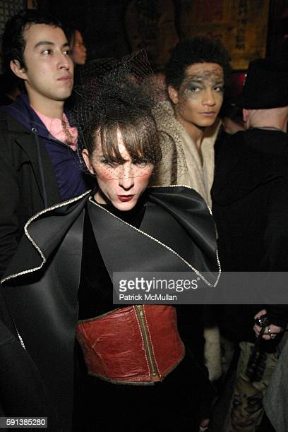 Bridgette Linsky attends B-Rude! Fall/Winter 2005 Fashion Show at Cuckoo Club at The Hiro Ballroom on February 6, 2005 in New York City.