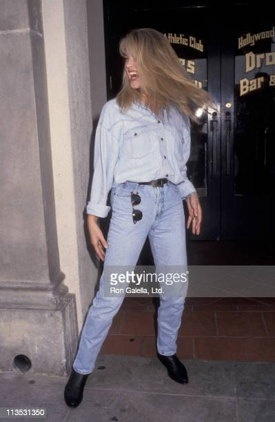 Bridgette Wilson during APLA Celebrity Pool Tournament at Hollywood Athletic Club in Hollywood California United States