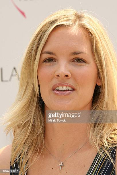 Bridgette Wilson during Estee Lauder Launches Pleasures by Gwyneth Paltrow at Greystone Estate in Beverly Hills California United States