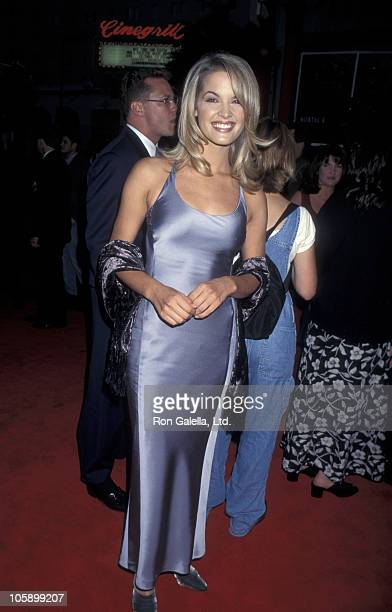 """Bridgette Wilson during """"Mortal Kombat"""" Los Angeles Premiere at Mann's Chinese Theatre in Hollywood, California, United States."""