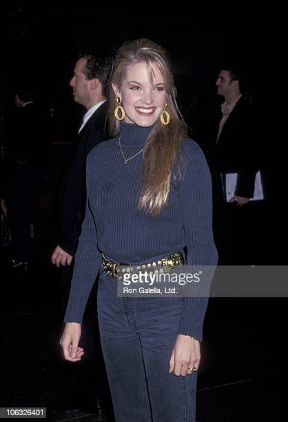 Bridgette Wilson during Premiere of Blink January 11 1994 at Director's Guild in West Hollywood California United States