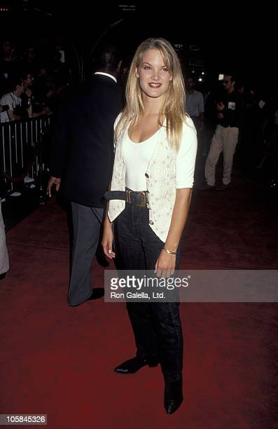 Bridgette Wilson during True Romance Los Angeles Premiere in Los Angeles California United States