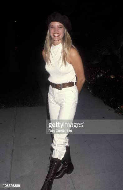 Bridgette Wilson during World Premiere of Malice September 29 1993 at Academy Theater in Beverly Hills California United States
