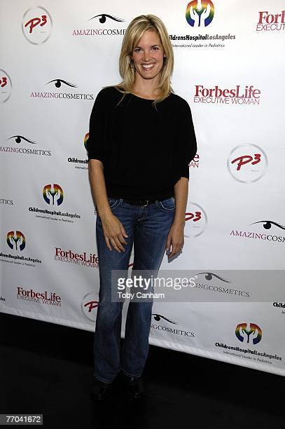 Bridgette Wilson Sampras poses for a picture at the Day Of Beauty for Mothers of Patients of Childrens Hospital Los Angeles September 26 2007 at the...