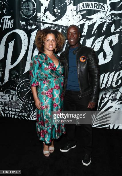 Bridgid Coulter and Don Cheadle attend Players' Night Out 2019 hosted by The Players' Tribune featuring the NBPA's Players' Voice awards at The Dream...
