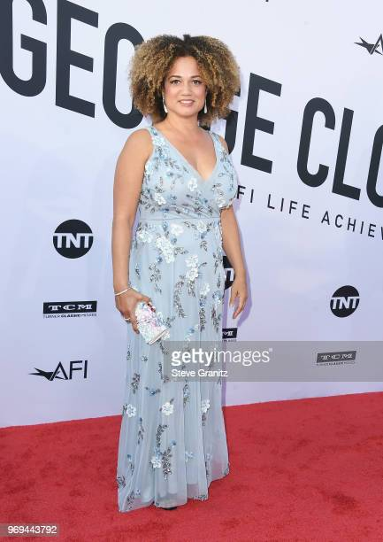 Bridgid Coulter attends the American Film Institute's 46th Life Achievement Award Gala Tribute to George Clooney at Dolby Theatre on June 7 2018 in...