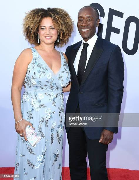 Bridgid Coulter Don Cheadle arrives at the American Film Institute's 46th Life Achievement Award Gala Tribute To George Clooney on June 7 2018 in...