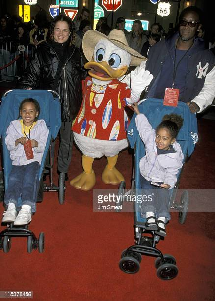 Bridgid Coulter Donald Duck and Don Cheadle and children