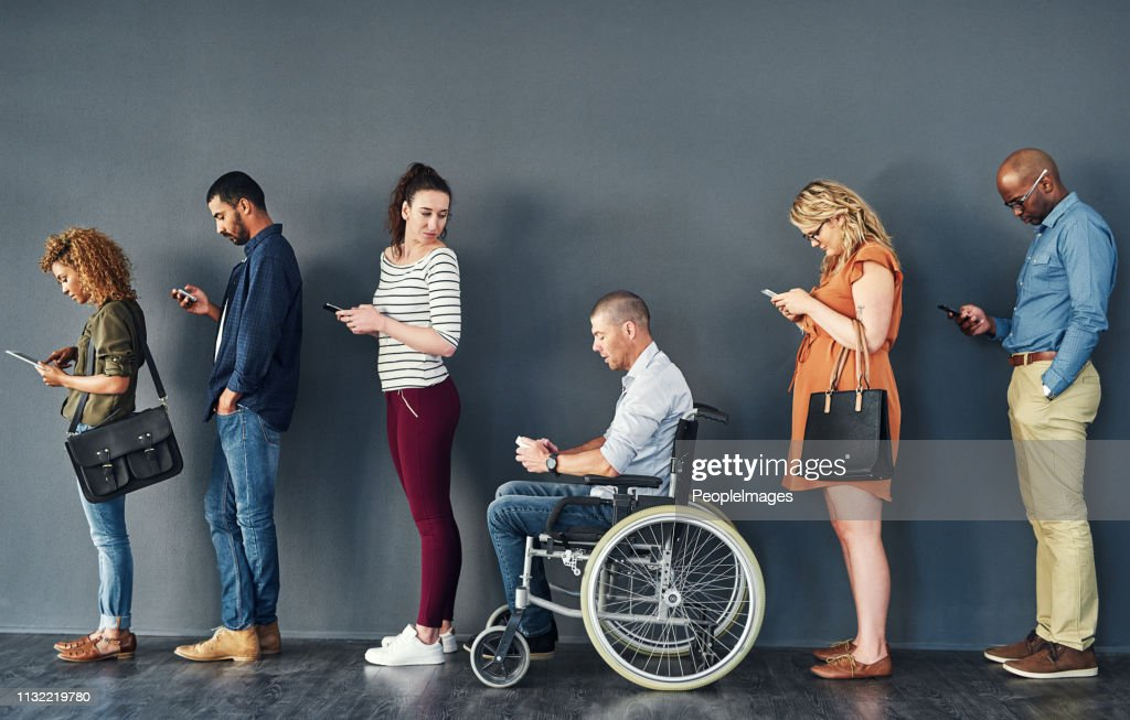 Bridging the gap to create equal opportunities for all : Stock Photo