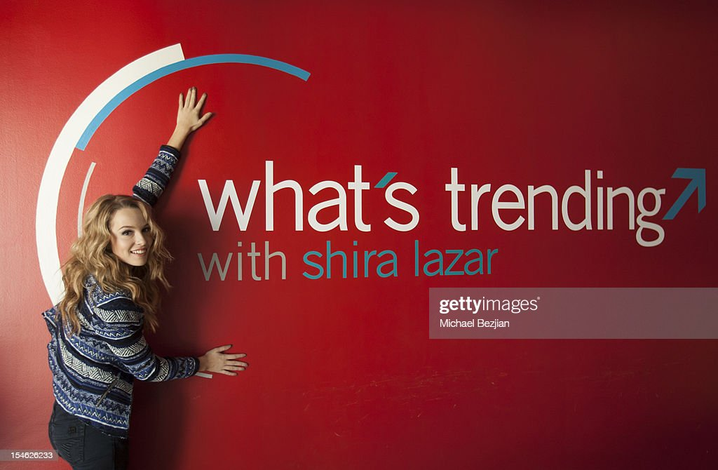 "Bridgit Mendler Visits ""What's Trending"""