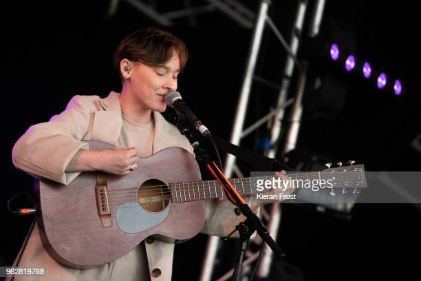 Bridie MondsWatson performs at the BBC 6Music Biggest Weekend at Titanic Slipways on May 26 2018 in Belfast Northern Ireland