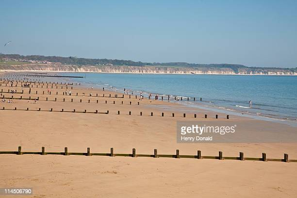 bridlington beach - bridlington stock pictures, royalty-free photos & images