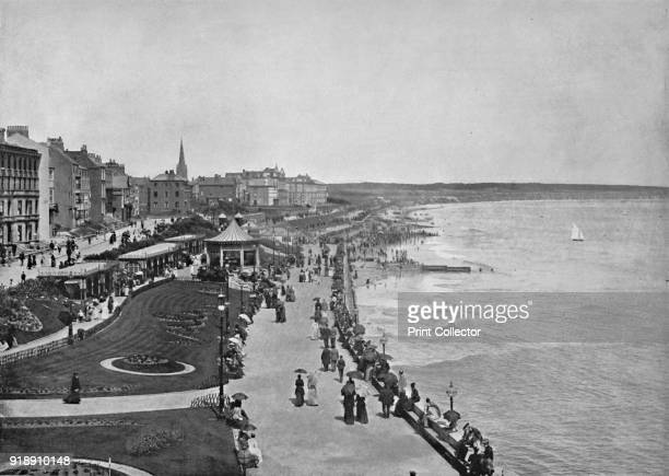 'Bridlington Looking Down the Prince's Parade' 1895 From Round the Coast [George Newnes Limited London 1895]Artist Unknown