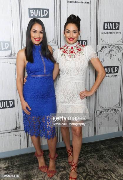 Brie Bella and Nikki Bella visit Build Series to discuss Total Bellas at Build Studio on May 17 2018 in New York City
