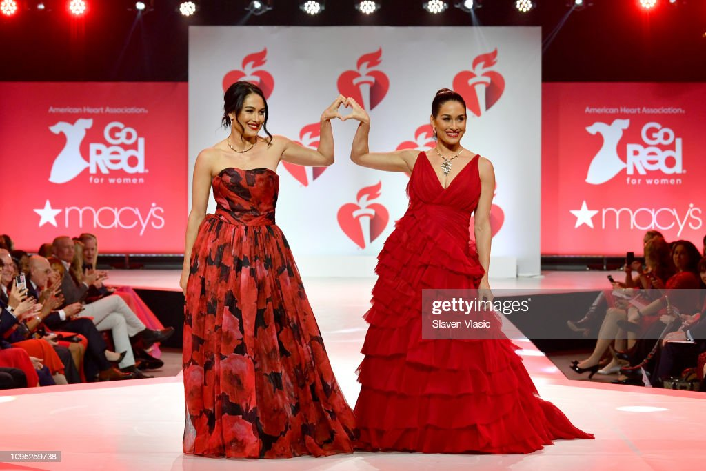 The American Heart Association's Go Red For Women Red Dress Collection 2019 Presented By Macy's - Runway : ニュース写真