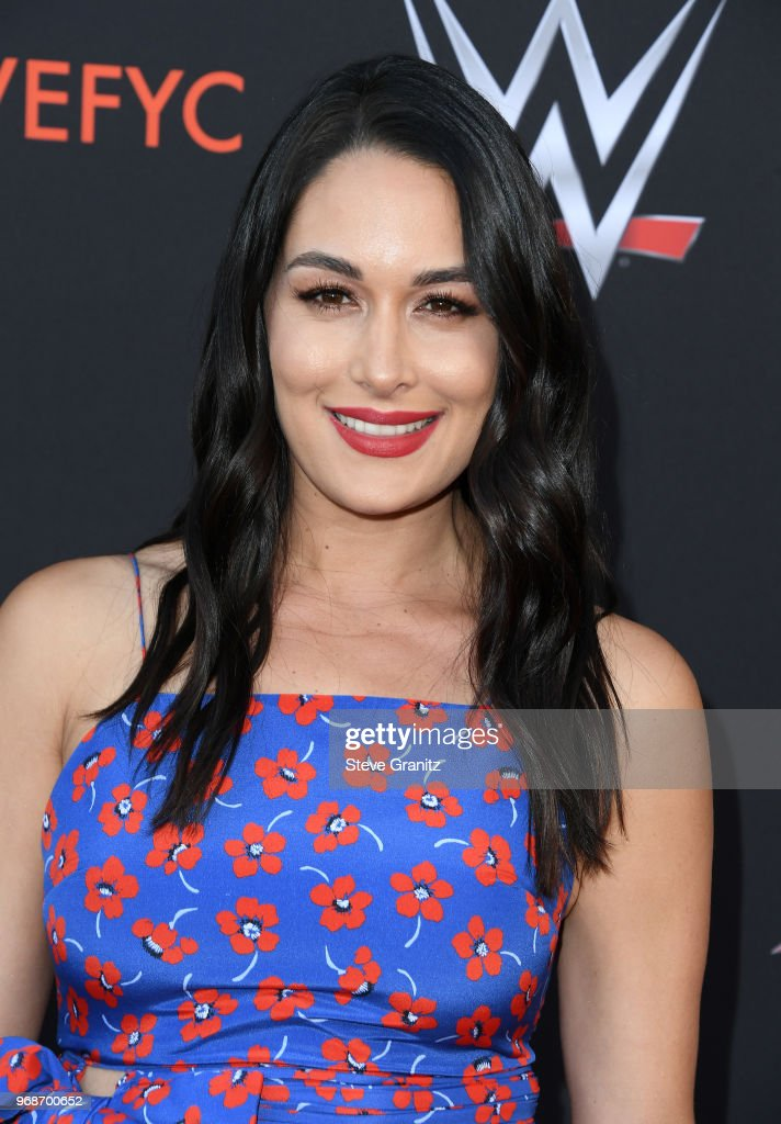 Brie Bella attends WWE's first-ever Emmy 'For Your Consideration' event at Saban Media Center on June 6, 2018 in North Hollywood, California.