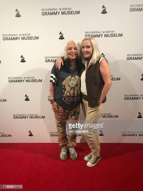 Brie Darling Cherie Currie at the Grammy Museum in Los Angeles California on August 1 2019