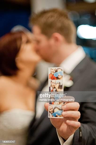 Brie & Groom with Photobooth photos