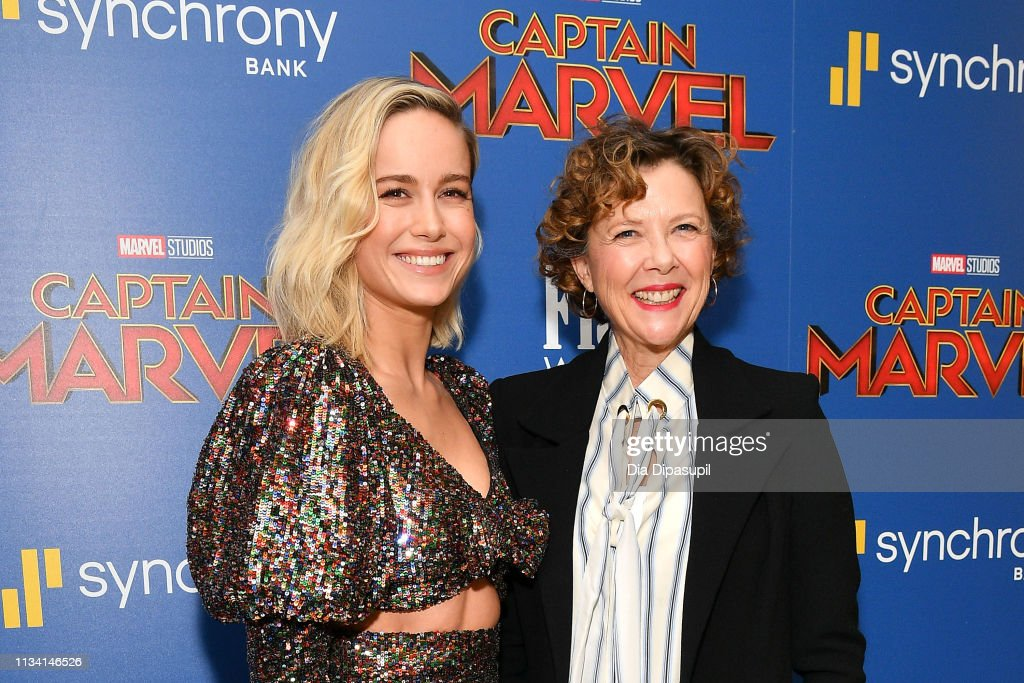 'Captain Marvel' New York Screening : News Photo
