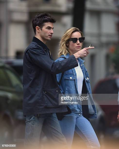 Brie Larson and fiance Alex Greenwald seen out in Manhattan on May 1 2017 in New York City