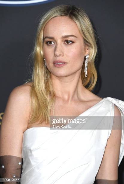Brie Larson arrives at the 51st NAACP Image Awards on February 22 2020 in Pasadena California