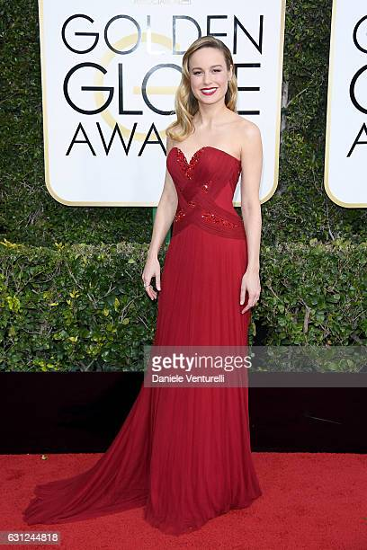 Brie Larson arrives at the 74th Annual Golden Globe Awards at The Beverly Hilton Hotel on January 8 2017 in Beverly Hills California