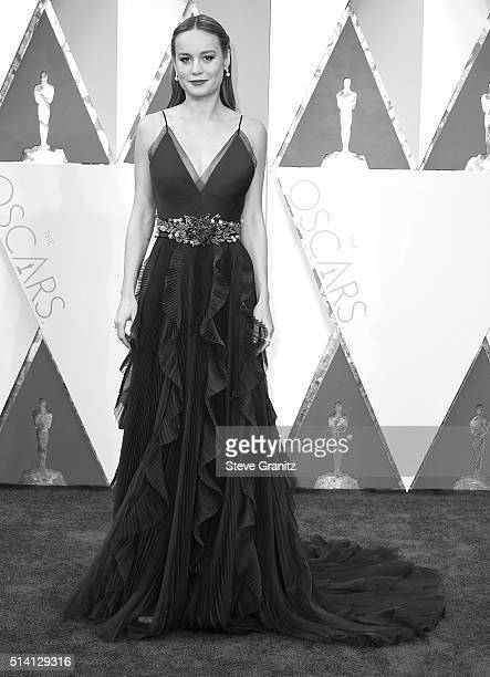 Brie Larson arrives at the 88th Annual Academy Awards at Hollywood Highland Center on February 28 2016 in Hollywood California