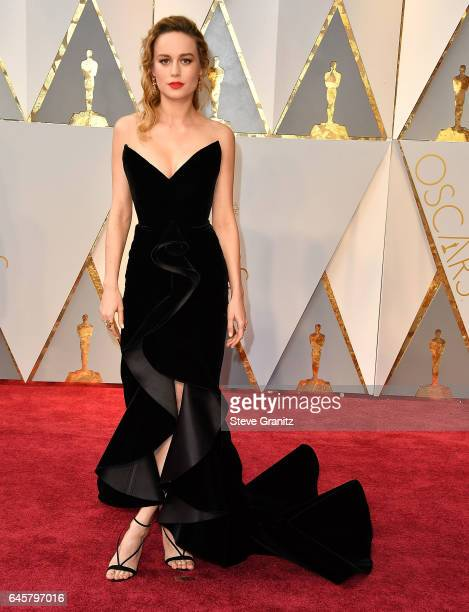 Brie Larson arrives at the 89th Annual Academy Awards at Hollywood Highland Center on February 26 2017 in Hollywood California